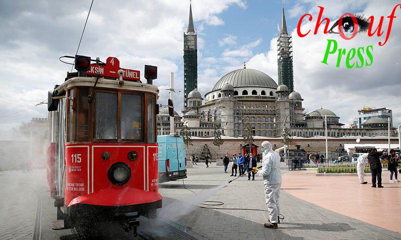 محمي: تركيا تدق نقوص الخطر..  تسجيل 128 حالة إصابة بكورونا المتحورفي 17 ولاية