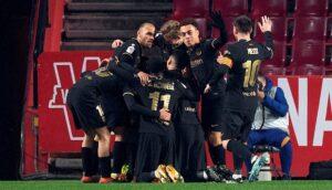 ريمونتادا يقود برشلونة لنهائي كأس إسبانيا