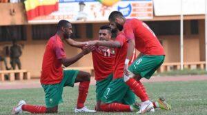 المنتخب المغربي يواجه اصحاب الارض  في بطولة افريقيا المحلية
