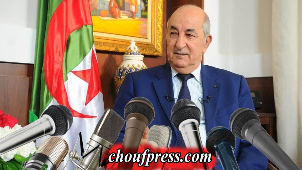 """اقالة مديرالأمن الوطني في الجزائرمن طرف رئيس """"تبون"""""""