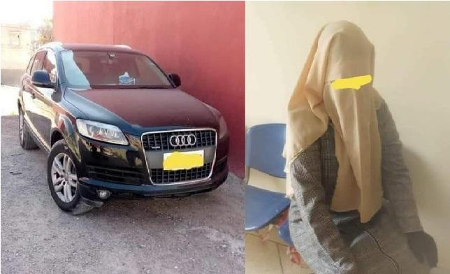 الحكم على المتسولة صاحبة سيارة الفارهة ب 6 اشهر نافدة