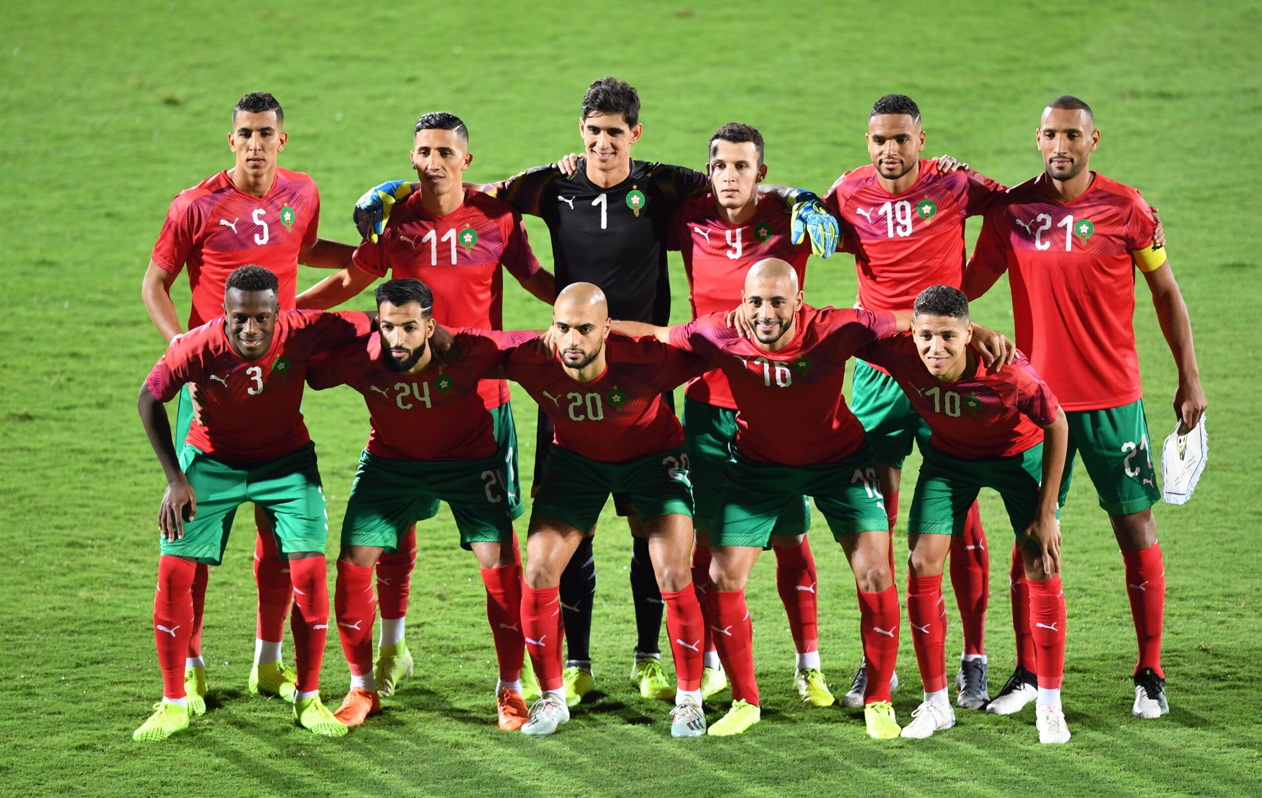المغرب في المجموعة الثالثة في كأس العرب فيفا قطر 2021
